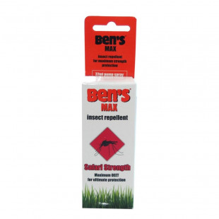 Bens Max Insect Repellent Spray - 37ml