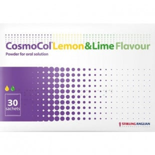 CosmoCol Lemon & Lime Flavour Sachets – Pack of 30