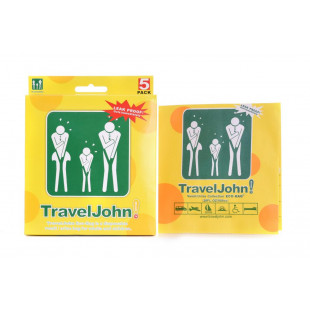 TravelJohn Disposable Vomit/Urine Bags (5 Pack)
