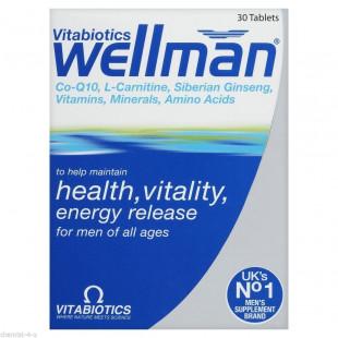 Vitabiotics Wellman Original – 30 Tablets