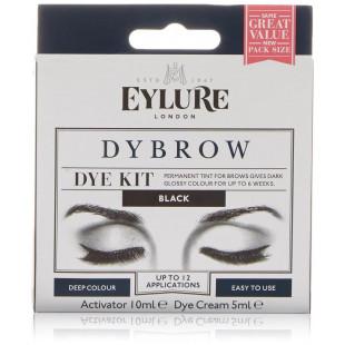 Eylure London Dybrow- Eyebrow Dye Kit - BLACK