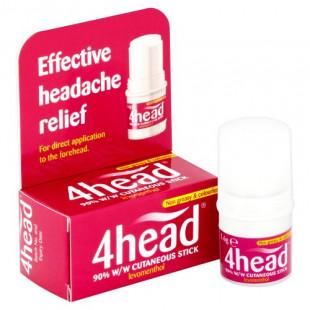 4Head Effective Headache Relief Stick - 3.6g