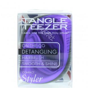 Tangle Teezer Compact Purple Dazzle Brush