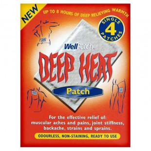 Deep Heat 4 Regular Heat Patches