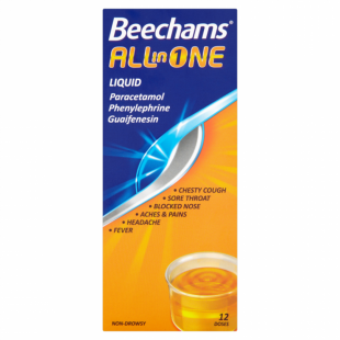 Beechams All In One Syrup - 160ml