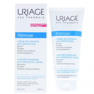 Uriage Xemose Emollient Milk Dry, Rough Or Scaly Skin 200ml
