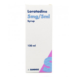 Loratadine Hayfever Relief 5mg/5ml Syrup – 100ml