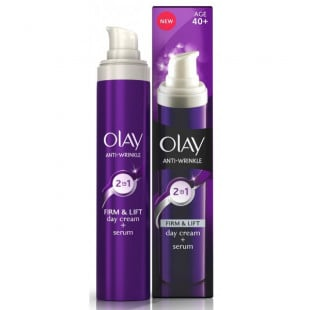 Olay Anti Wrinkle Firm and Lift 2in1 Day Cream and Serum 50ml