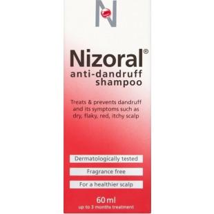 Nizoral Anti-Dandruff Shampoo – 60ml