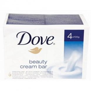 Dove Beauty Cream Soap Bar 4x 100g