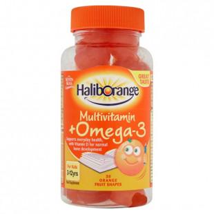 Haliborange Kids Multivitamin + Omega-3 - 30 Softies