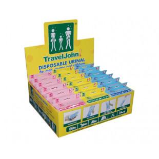TravelJohn Disposable Urinal Family Bundle Pack
