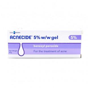 Acnecide 5% Gel Benzoyl Peroxide - 60g