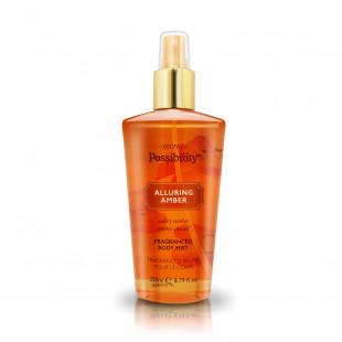 Secret Possibility Fragrance Body Mist Spray 250ml - Alluring Amber