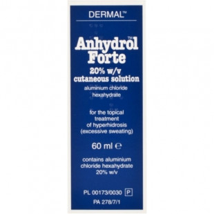 Anhydrol Forte Roll-On Solution - 60ml