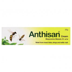 Anthisan Cream For Insect Bites & Stings – 25g