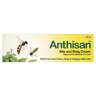 Anthisan Bite and Sting Relief Cream - 20g
