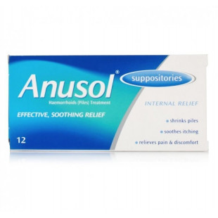 Anusol Suppositories Relief For Haemorrhoids - 12
