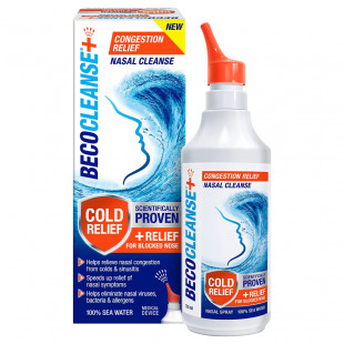 Becocleanse Plus Congestion Relief Nasal Cleanse - 135ml