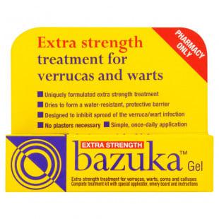 Bazuka Verruca Gel Extra Strength - 5g