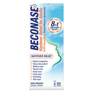Beconase Hayfever Relief Nasal Spray – 100 Sprays