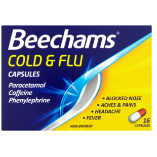 Beechams Cold & Flu – 16 Capsules