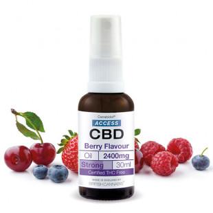 Access CBD Oil Berry Flavour - 2400mg