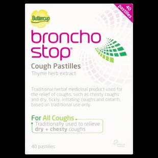 Buttercup BronchoStop Cough Pastilles - 40 Pastilles