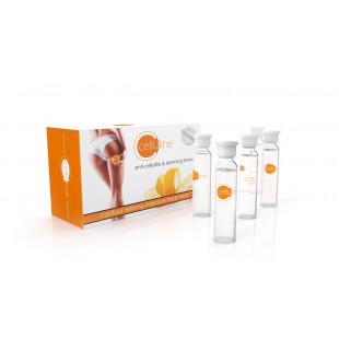 Celluline Anti Cellulite and Slimming Formula 12 x 10ml Serum