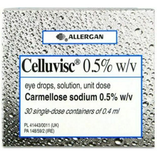 Celluvisc 0.5% Eye Drops - Pack of 30