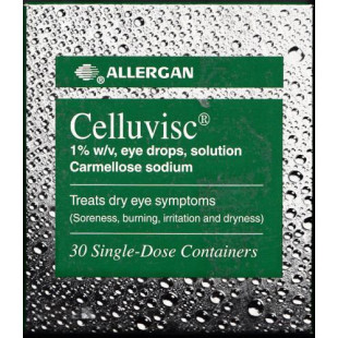 Celluvisc 1% Eye Drops - Pack of 30