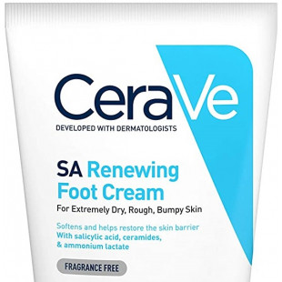 CeraVe SA Renewing Foot Cream - 88ml