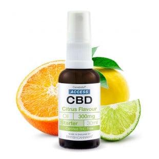 Access CBD Oil Citrus Flavour - 300mg