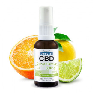 Access CBD Oil Citrus Flavour - 600mg