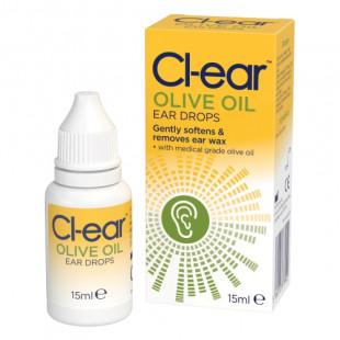 Cl-ear Olive Oil Ear Drops - 15ml