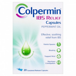 Colpermin IBS Relief - 20 Capsules