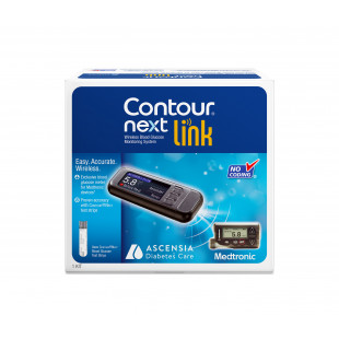 Contour Next Link Blood Glucose Meter