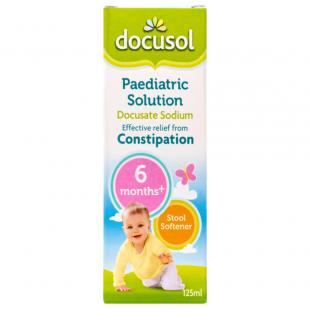 Docusol Paediatric Solution - 125ml