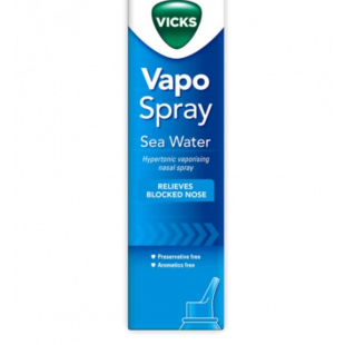 Vicks Vapo Spray Saline Nasal Spray - 100ml