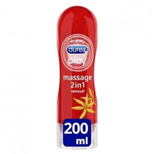 Durex Play Sensual Massage 2 In 1 Lube - 200ml
