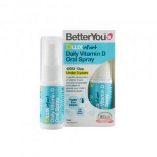 BetterYou DLUX Infant Vitamin D Spray 15ml