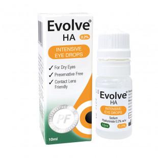Evolve HA Intensive Eye Drops 0.2% - 10ml