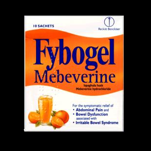Fybogel Mebeverine Orange Flavour - 10 Sachets