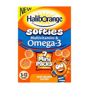 Haliborange Kids Multivitamins and Omega-3 - 7 Mini Packs