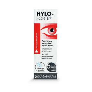 Hylo-Forte 0.2% Preservative & Phosphate Free Eye Drops - 10ml