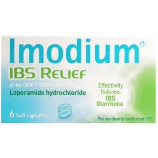 Imodium IBS Relief 2mg – 6 Soft Capsules