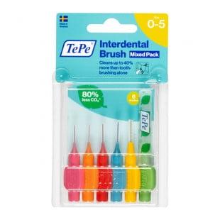 TePe Interdental Brush Mixed Pack