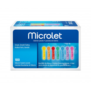 Microlet Lancets - Pack of 100
