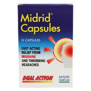 Midrid - 15 Capsules