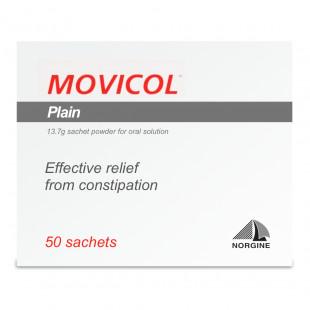 Movicol Powder Sachets Plain - 50 Sachets